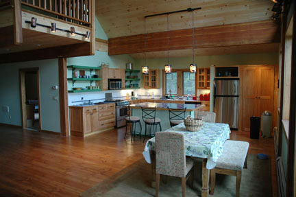 Woodstock Mountain Homes Chalet Style
